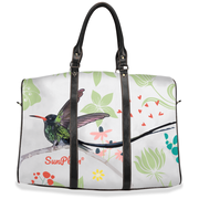 Jamaican Humming Bird Fashion Travel Bag Small,Brown,Small,Black,Large,Brown,Large,Black from %store_name% at 54.90 USD