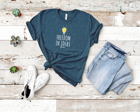 Freedom In Ideas Short-Sleeve Unisex T-Shirt