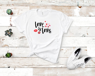 Love is Love Short-Sleeve Unisex T-Shirt White,S,White,M,White,L,White,XL,White,2XL,White,3XL,Athletic Heather,S,Athletic Heather,M,Athletic Heather,L,Athletic Heather,XL,Athletic Heather,2XL,Athletic Heather,3XL,Soft Cream,S,Soft Cream,M,Soft Cream,L,Soft Cream,XL,Soft Cream,2XL,Soft Cream,3XL,Ash,S,Ash,M,Ash,L,Ash,XL,Ash,2XL,Heather Blue,S,Heather Blue,M,Heather Blue,L,Heather Blue,XL,Heather Blue,2XL,Heather Blue,3XL,Ash,3XL from %store_name% at 26.95 USD