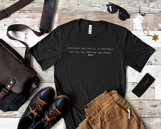 Confidence Can Lead Us To Greatness Short-Sleeve Unisex T-Shirt Black,S,Black,M,Black,L,Black,XL,Black,2XL,Black Heather,S,Black Heather,M,Black Heather,L,Black Heather,XL,Black Heather,2XL,Heather Forest,S,Heather Forest,M,Heather Forest,L,Heather Forest,XL,Heather Forest,2XL,Heather Midnight Navy,S,Heather Midnight Navy,M,Heather Midnight Navy,L,Heather Midnight Navy,XL,Heather Midnight Navy,2XL,Olive,S,Olive,M,Olive,L,Olive,XL,Olive,2XL,Asphalt,S,Asphalt,M,Asphalt,L,Asphalt,XL,Asphalt,2XL,Navy,S,Navy,M,N
