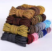 Men's Unisex Durable Striped Two Tone Shoe Laces  for Boots Outdoor Sport Shoes with Many Color and Size options