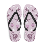 Flower Power Multi-colored Flip-Flops S,M,L from %store_name% at 18.95 USD