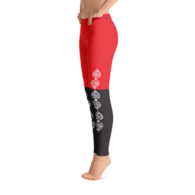 Lucky One Casino Royale Comfortable Printed Leggings XS,S,M,L,XL from %store_name% at 49.95 USD