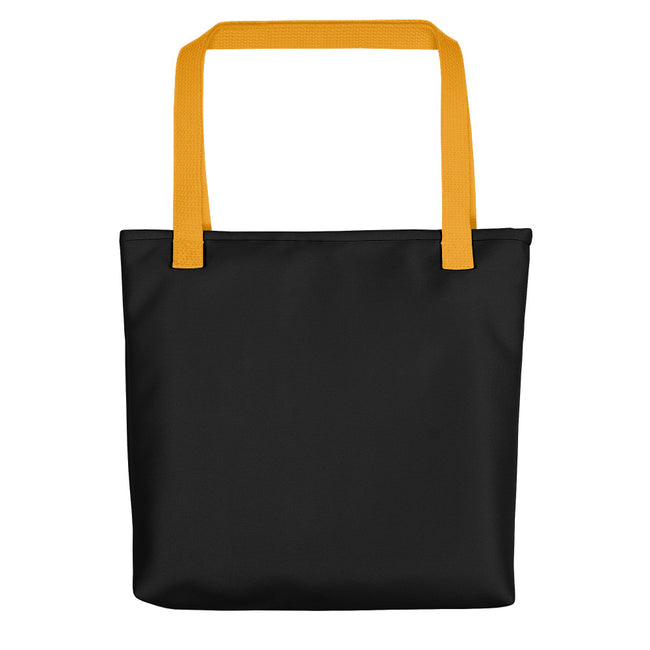 Its 5 oclock Somewhere Cocktail Beach Party Tote Bag Black,Yellow from %store_name% at 28.00 USD