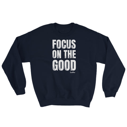 Focus On The Good Sweatshirt 8940119 $30.00 $30.00 $32.00 Apparel, Black, Clothing, Fashion, feed-agegroup-adult, feed-gender-unisex, feed-gpc-1604, feed-gpc-212, GSS22XL, Indigo Blue, Maroon, Men, Navy, Red, top, tops, Unisex, Women SunPlum Color Black Size S SunPlum