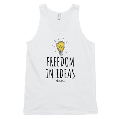 Freedom In Ideas Classic Tank Top (Unisex) White,XS,White,S,White,M,White,L,White,XL,Heather Grey,XS,Heather Grey,S,Heather Grey,M,Heather Grey,L,Heather Grey,XL from %store_name% at 24.95 USD
