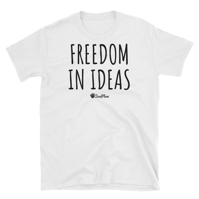 Freedom In Ideas Unisex Softstyle T-Shirt White,S,White,M,White,L,White,XL,White,2XL,White,3XL,Sport Grey,S,Sport Grey,M,Sport Grey,L,Sport Grey,XL,Sport Grey,2XL,Sport Grey,3XL from %store_name% at 24.00 USD