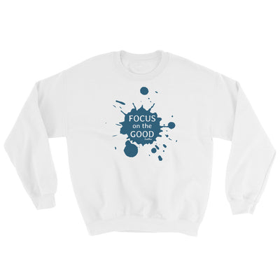 Focus On The Good Sweatshirt White,S,White,M,White,L,White,XL,White,2XL,White,3XL,White,4XL,White,5XL,Black,S,Black,M,Black,L,Black,XL,Black,2XL,Black,3XL,Black,4XL,Black,5XL,Sport Grey,S,Sport Grey,M,Sport Grey,L,Sport Grey,XL,Sport Grey,2XL,Sport Grey,3XL,Sport Grey,4XL,Sport Grey,5XL from %store_name% at 34.99 USD