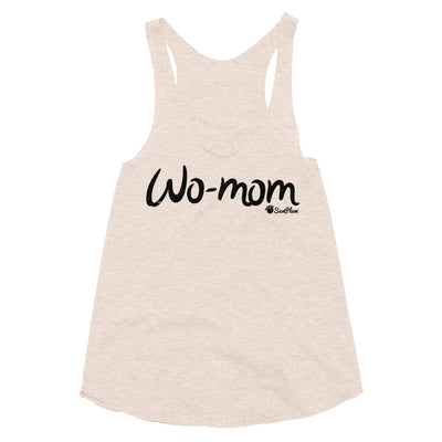 WO-MOM Womens Tri-Blend Racerback Tank XS,S,M,L from %store_name% at 24.95 USD