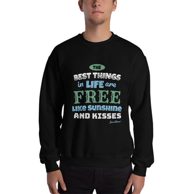 The Best Things In Life Unisex Heavy Blend Crewneck Sweatshirt Black,S,Black,M,Black,L,Black,XL,Black,2XL,Black,3XL,Black,4XL,Black,5XL,Navy,S,Navy,M,Navy,L,Navy,XL,Navy,2XL,Navy,3XL,Navy,4XL,Navy,5XL,Maroon,S,Maroon,M,Maroon,L,Maroon,XL,Maroon,2XL from %store_name% at 34.99 USD