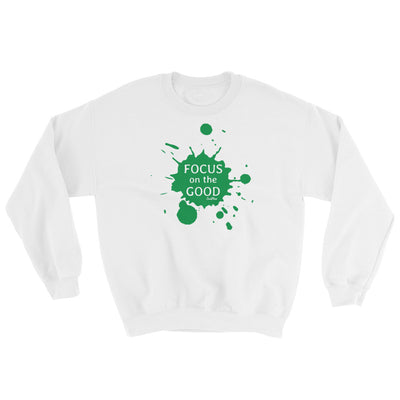 Focus On The Good Sweatshirt White,S,White,M,White,L,White,XL,White,2XL,White,3XL,White,4XL,White,5XL,Black,S,Black,M,Black,L,Black,XL,Black,2XL,Black,3XL,Black,4XL,Black,5XL,Navy,S,Navy,M,Navy,L,Navy,XL,Navy,2XL,Navy,3XL,Navy,4XL,Navy,5XL,Sport Grey,S,Sport Grey,M,Sport Grey,L,Sport Grey,XL,Sport Grey,2XL,Sport Grey,3XL,Sport Grey,4XL,Sport Grey,5XL from %store_name% at 34.99 USD