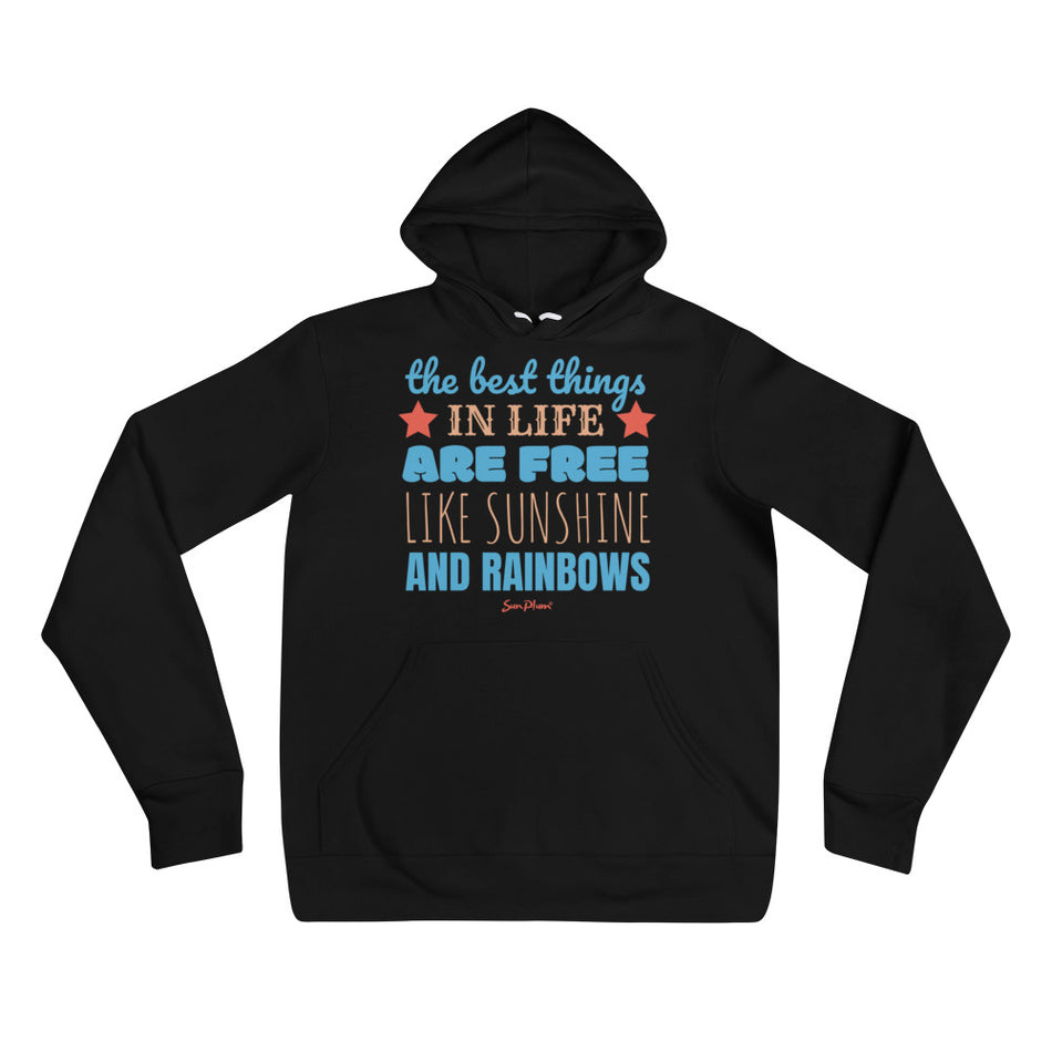 The Best Things In Life Unisex Hoodie S,M,L,XL,2XL from %store_name% at 39.99 USD