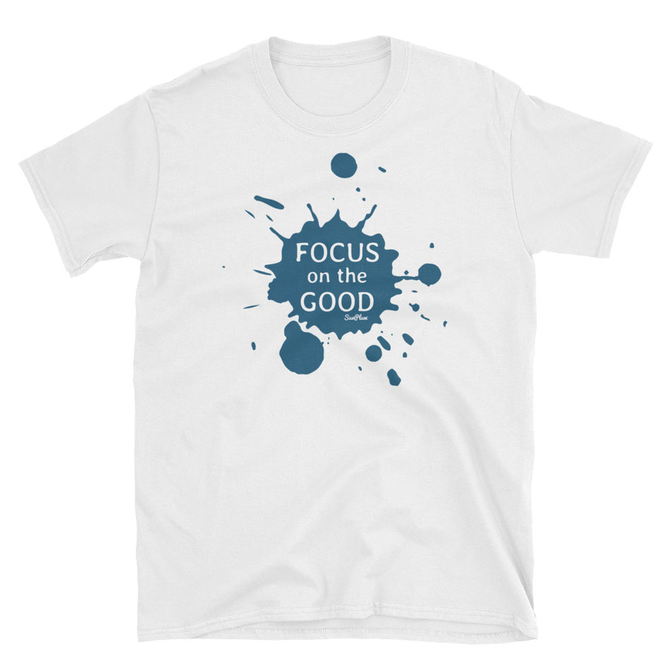 Focus On The Good Unisex Softstyle T-Shirt White,S,White,M,White,L,White,XL,White,2XL,White,3XL,Sport Grey,S,Sport Grey,M,Sport Grey,L,Sport Grey,XL,Sport Grey,2XL,Sport Grey,3XL from %store_name% at 24.00 USD