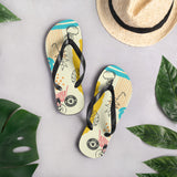 Beach Bum Multi-colored Flip-Flops S,M,L from %store_name% at 18.95 USD