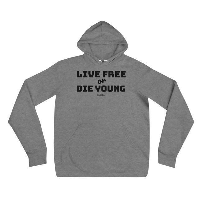 Live Free or Die Young Unisex Hoodie S,M,L,XL,2XL from %store_name% at 39.99 USD