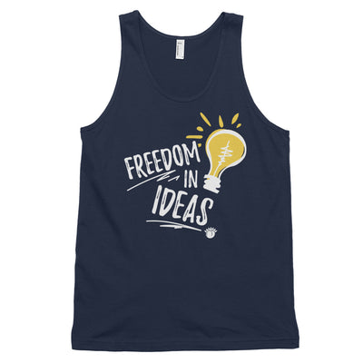 Freedom In Ideas Classic Tank Top (Unisex) Black,XS,Black,S,Black,M,Black,L,Black,XL,Asphalt,XS,Asphalt,S,Asphalt,M,Asphalt,L,Asphalt,XL,Navy,XS,Navy,S,Navy,M,Navy,L,Navy,XL from %store_name% at 24.95 USD