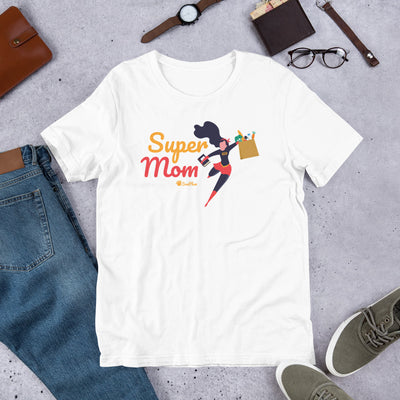 Super Mom Short-Sleeve Unisex T-Shirt White,S,White,M,White,L,White,XL,White,2XL,White,3XL,Soft Cream,S,Soft Cream,M,Soft Cream,L,Soft Cream,XL,Soft Cream,2XL,Soft Cream,3XL,Ash,S,Ash,M,Ash,L,Ash,XL,Ash,2XL,Ash,3XL from %store_name% at 26.95 USD