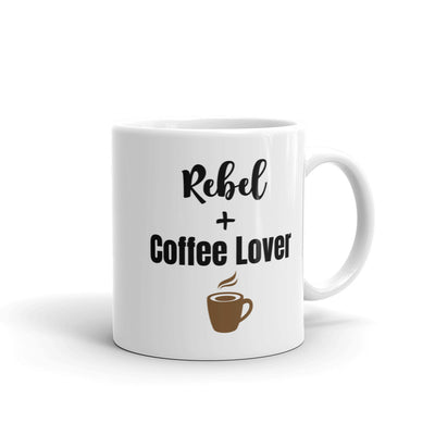 Rebel + Coffee Lover Lifestyle Mug 11oz,15oz from %store_name% at 11.00 USD