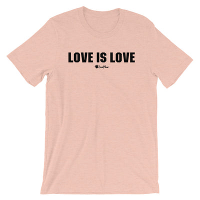 Love is Love Short-Sleeve Unisex T-Shirt White,S,White,M,White,L,White,XL,White,2XL,White,3XL,Athletic Heather,S,Athletic Heather,M,Athletic Heather,L,Athletic Heather,XL,Athletic Heather,2XL,Athletic Heather,3XL,Soft Cream,S,Soft Cream,M,Soft Cream,L,Soft Cream,XL,Soft Cream,2XL,Soft Cream,3XL,Ash,S,Ash,M,Ash,L,Ash,XL,Ash,2XL,Heather Prism Peach,S,Heather Prism Peach,M,Heather Prism Peach,L,Heather Prism Peach,XL,Heather Prism Peach,2XL,Heather Prism Peach,3XL,Heather Prism Ice Blue,S,Heather Prism Ice Blu