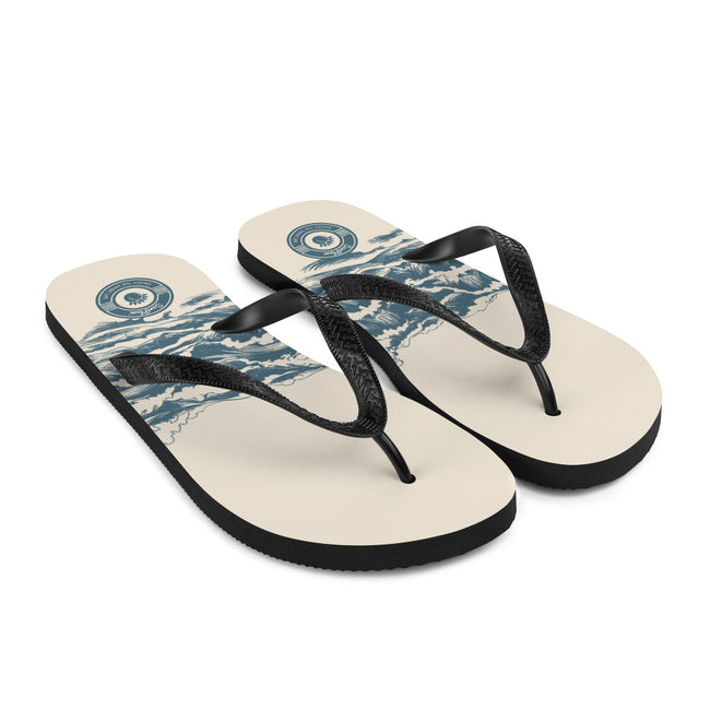 High Wave Multi-colored Flip-Flops S,M,L from %store_name% at 18.95 USD