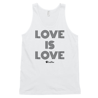 Love is Love Classic Tank Top (Unisex) White,XS,White,S,White,M,White,L,White,XL,Heather Grey,XS,Heather Grey,S,Heather Grey,M,Heather Grey,L,Heather Grey,XL from %store_name% at 24.95 USD