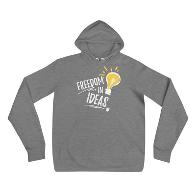 Freedom In Ideas Unisex Hoodie Black,S,Black,M,Black,L,Black,XL,Black,2XL,Deep Heather,S,Deep Heather,M,Deep Heather,L,Deep Heather,XL,Deep Heather,2XL from %store_name% at 39.99 USD
