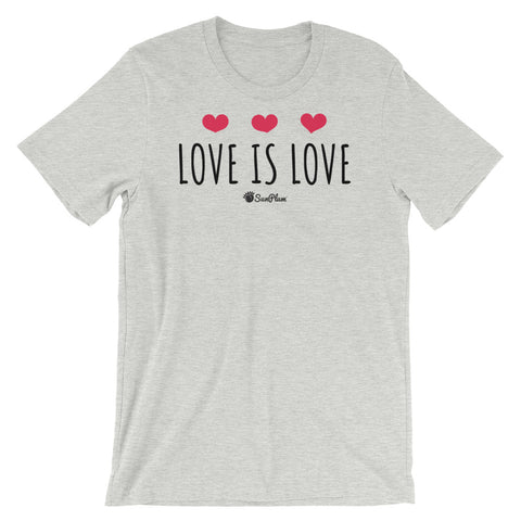 Love is Love Short-Sleeve Unisex T-Shirt