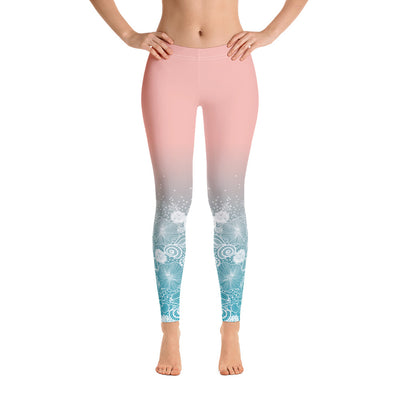 Beach Bum Shore Up Comfortable Printed Leggings XS,S,M,L,XL from %store_name% at 49.30 USD