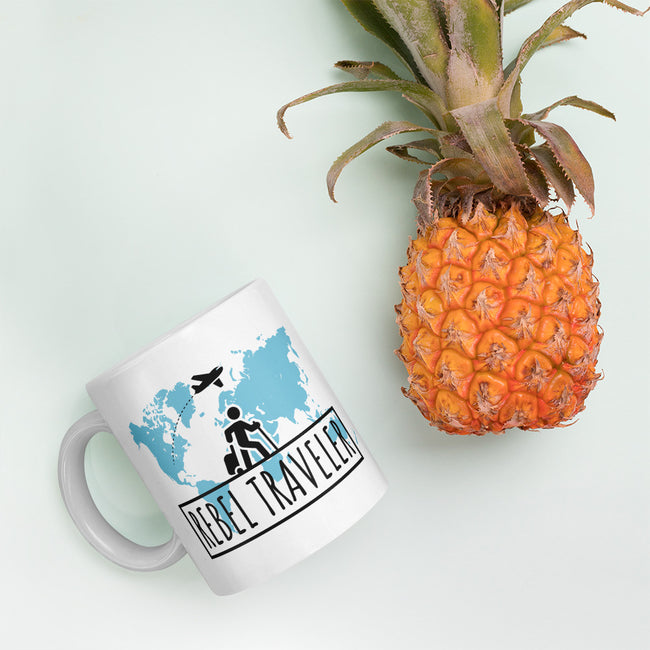 Rebel Traveler Lifestyle Coffee Mug 11oz,15oz from %store_name% at 11.00 USD