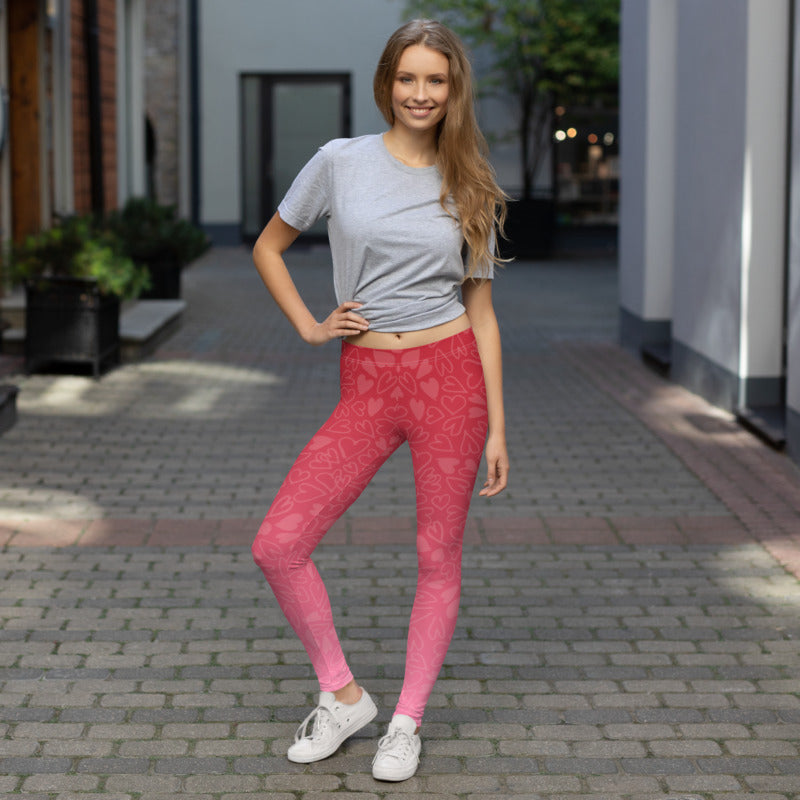 Live The Life You Love Peace and Love Comfortable Printed Leggings XS,S,M,L,XL from %store_name% at 49.95 USD