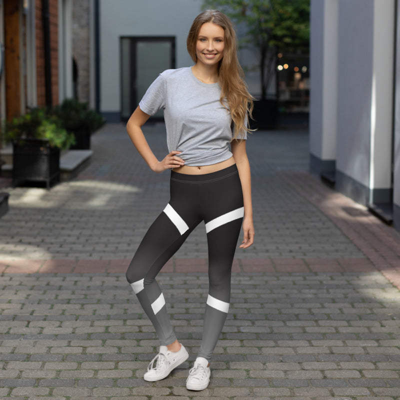 Beautiful Inside and Out Linear Dreams Comfortable Printed Leggings XS,S,M,L,XL from %store_name% at 49.30 USD