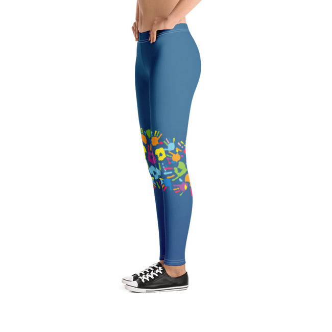 Live The Life You Love Connected To The World Comfortable Printed Leggings XS,S,M,L,XL from %store_name% at 49.95 USD