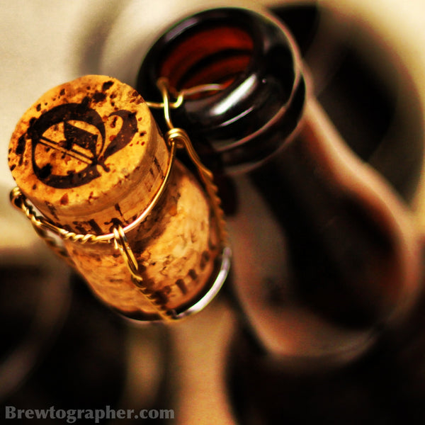 Awesome craft beer cork shot