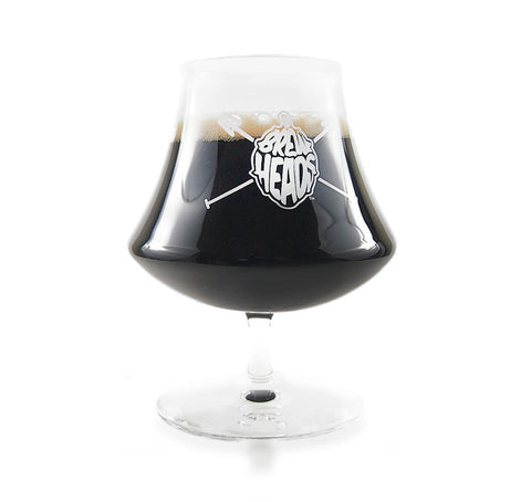 BrewHeads Snifter proper glassware for craftbeer