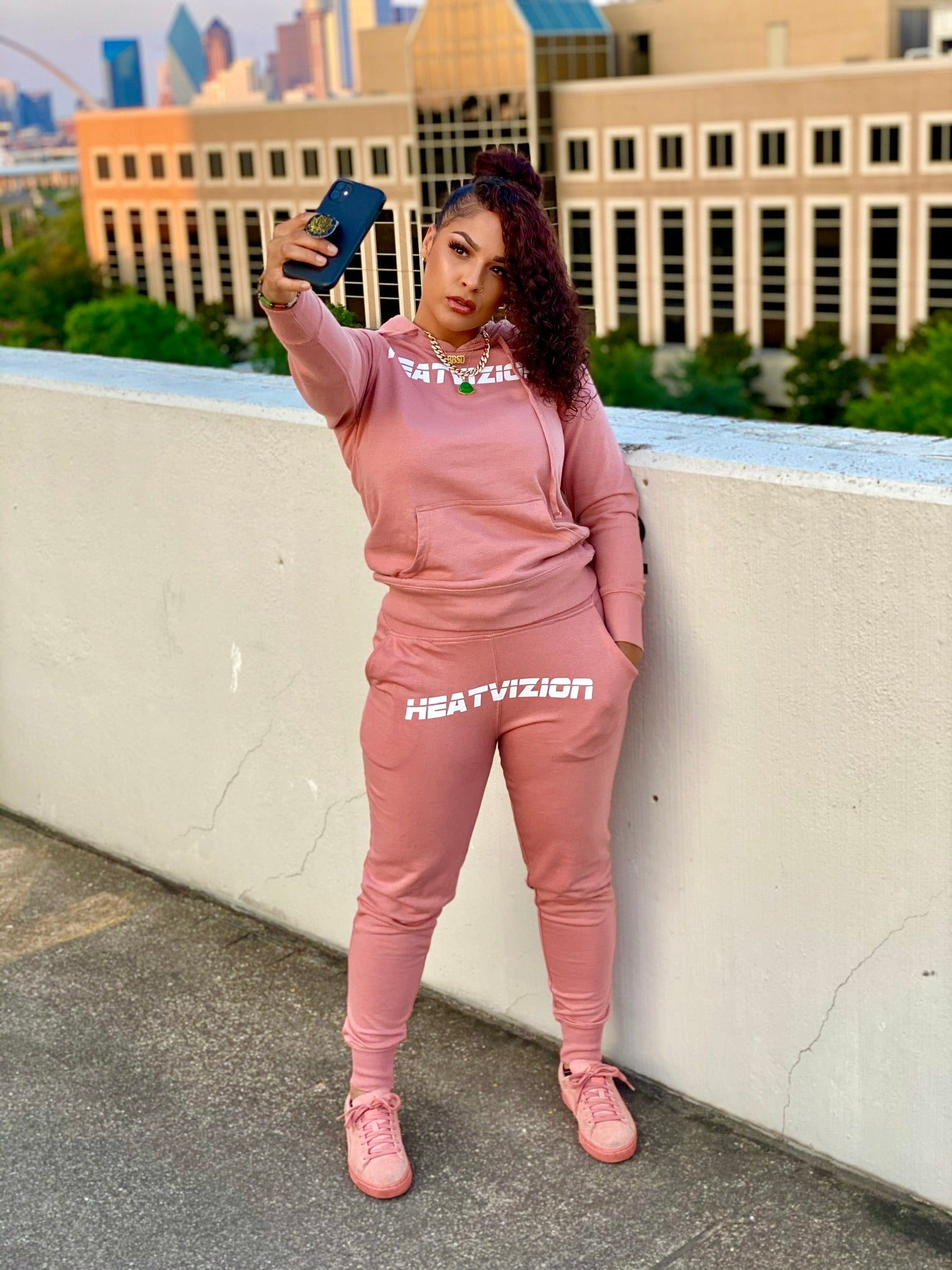 Women's Peach - HVZ Sweatsuit