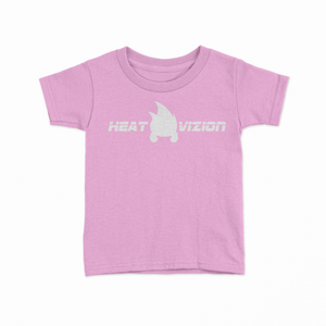 Toddler Ghost Logo - Pink