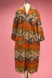 Antique Wool Blanket Robe