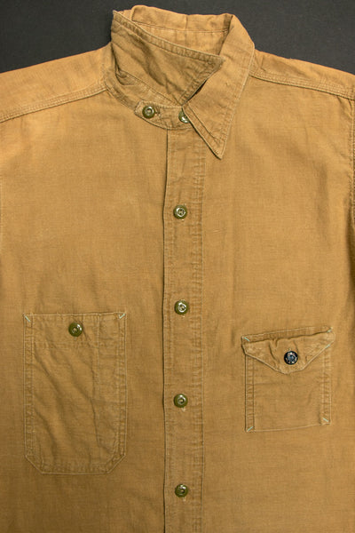 Early Vintage 1930's Big Yank Reliance Chin Strap Work Shirt
