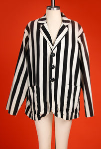 Vintage 1940's Black Referee Jacket