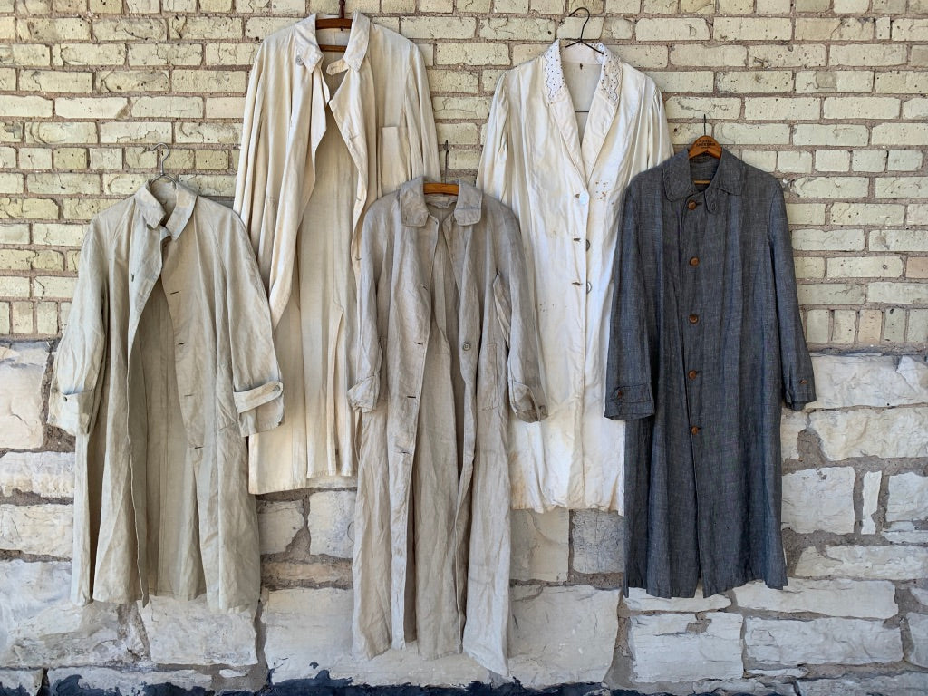 Collection of Antique Driving Coats