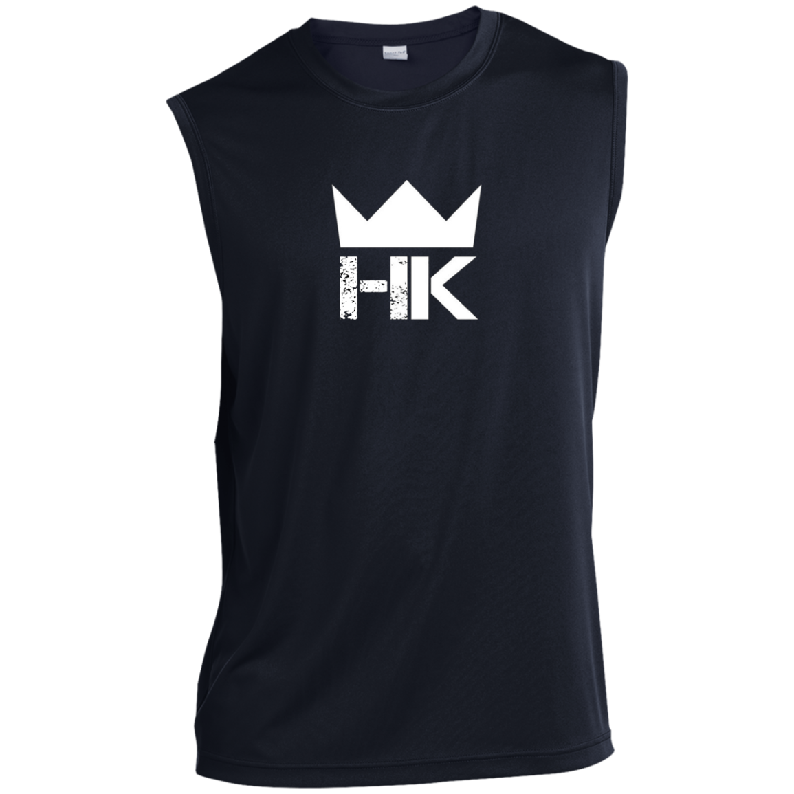H & K Royal Crown  Sleeveless Performance T-Shirt