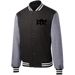 H&K Crown Fleece Letterman Jacket