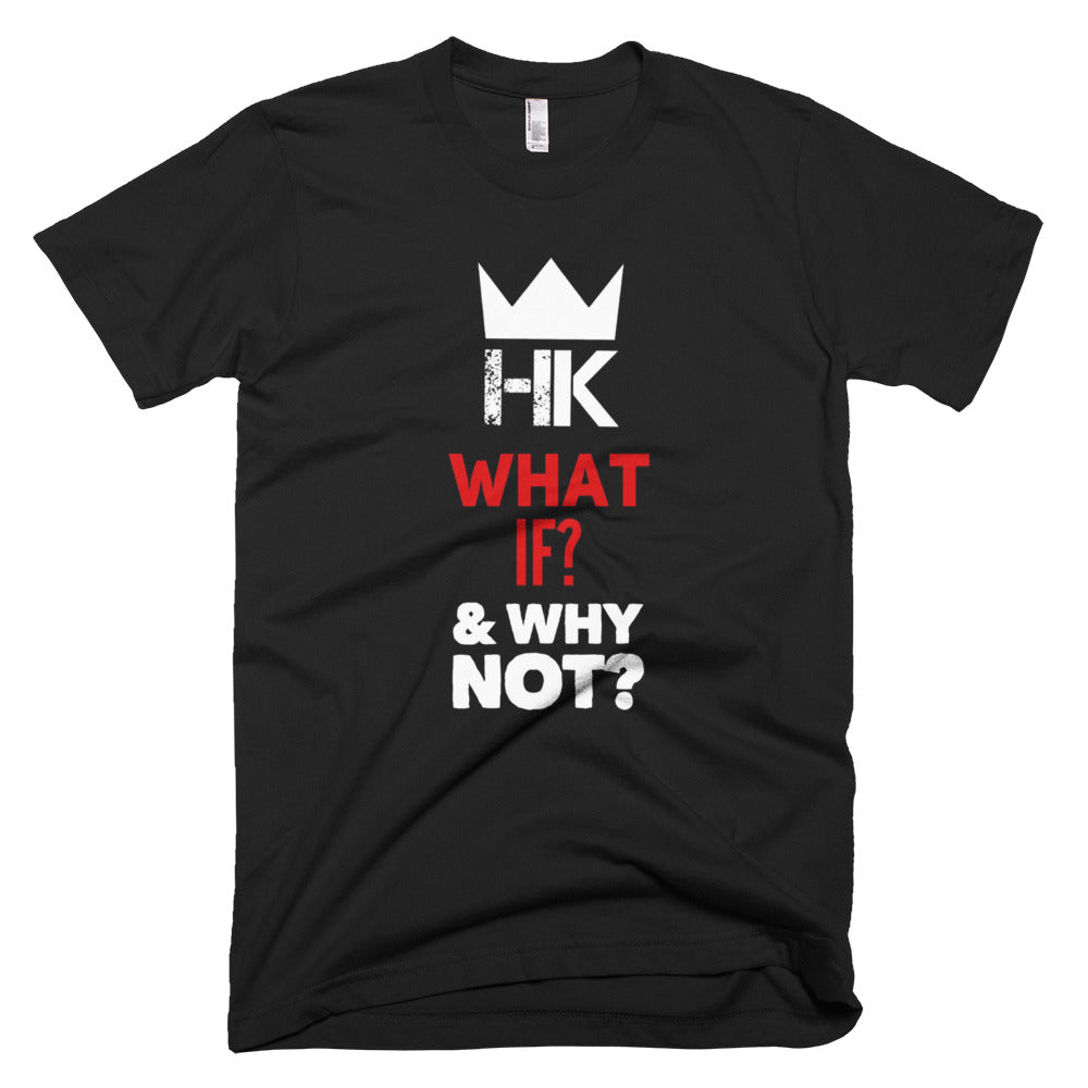 H & K What & Why?  Fine Jersey Short Sleeve T-Shirt