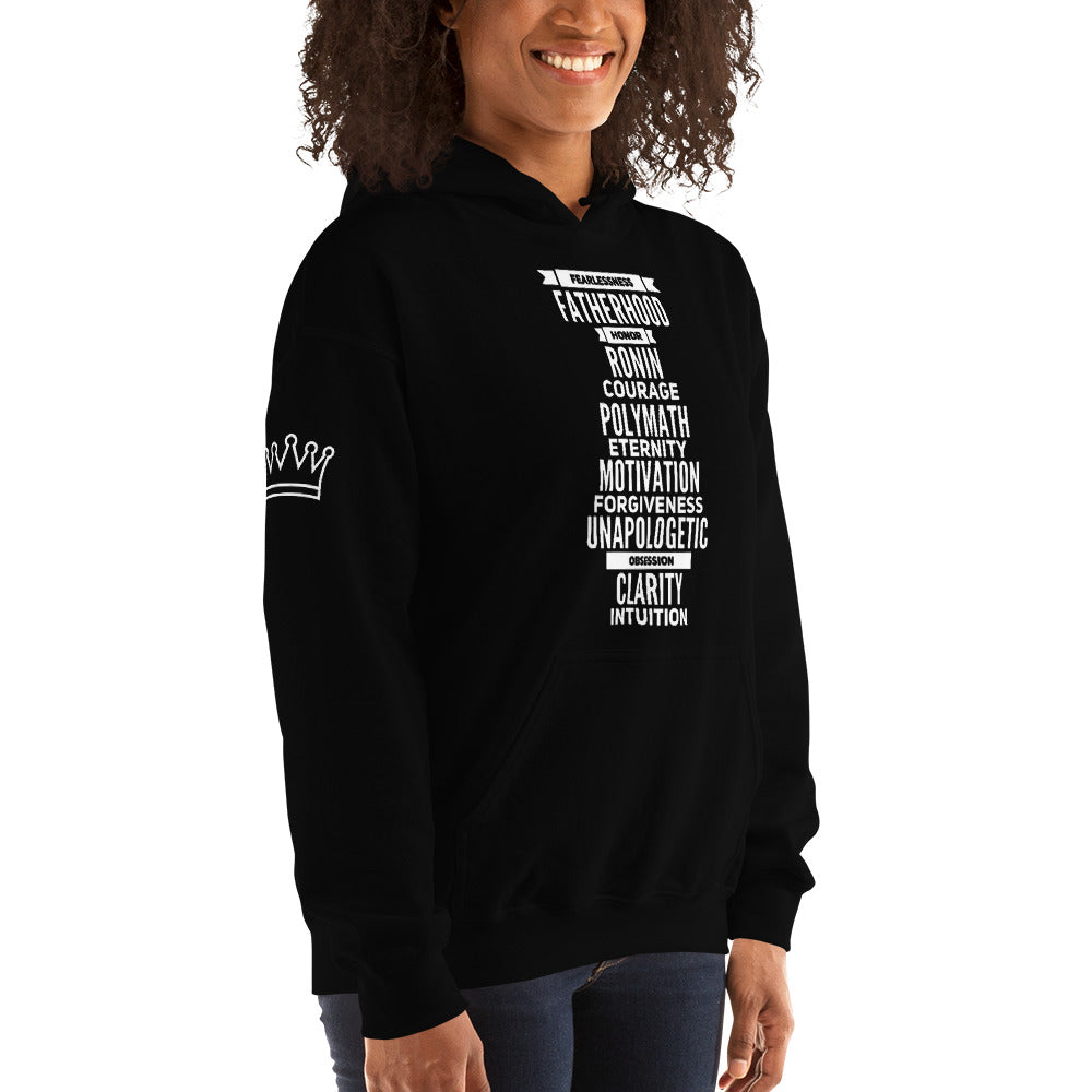 Vendetta 13 Philosophies Hooded Sweatshirt