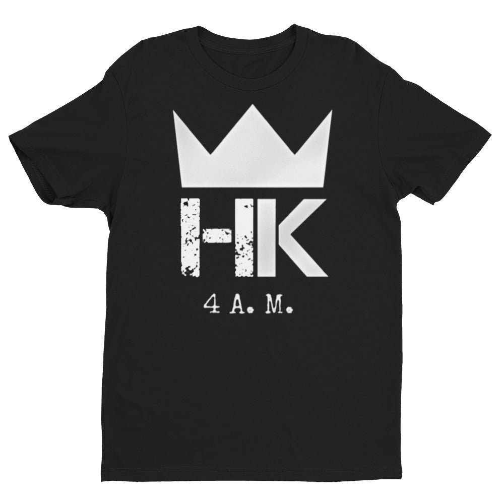 H & K Simple 4:00 am Short Sleeve T-shirt