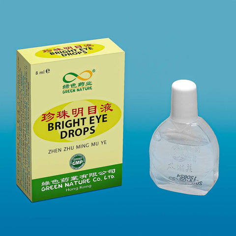 Bright Eye Drops<br>珍珠明目滴眼液<br>ZhenZhuMingMuDiYanYe