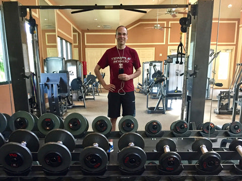 John Smagula, Cypress Falls fitness center, North Port, Florida