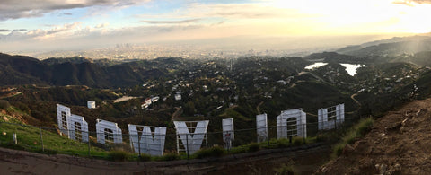 Hollywood Sign from Mt. Lee