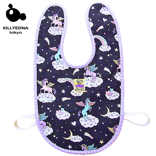 BABYBIB [Unicorn ユニコーン]black/blue