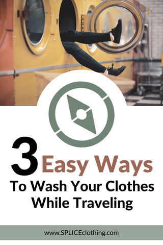 Wash Clothes While Traveling